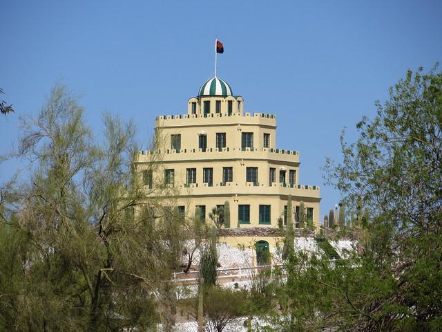 The Tovrea Castle in Phoenix, Arizona