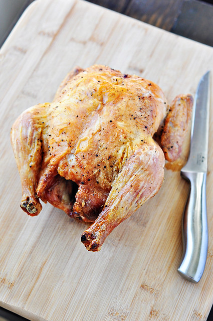 Crisp Roast Chicken