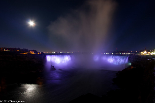 Horseshoe Falls (Night)
