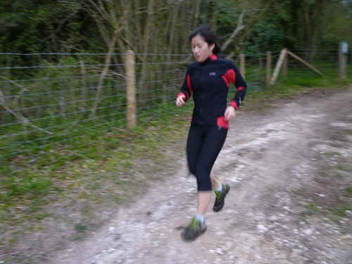 NDW Easter Sunday morning run - Mrs UB on the trails by ultraBobban