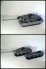 U.S. T-28 Super Heavy Tank / T-95 Gun Motor Carriage by D-Town Cracka