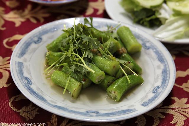 Vietnamese-style okra