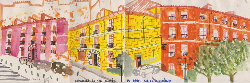 Madrid - Costanilla de San Andrés