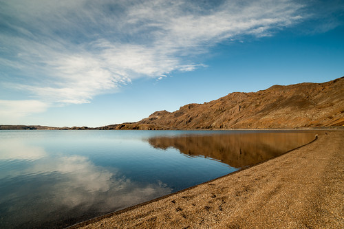 Lake Kleifarvatn by Þorgils G.