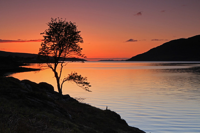 Little Loch Broom Sunset.