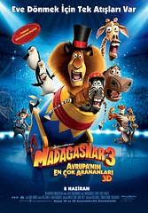 Madagaskar 3: Avrupa'nın En Çok Arananları - Madagascar 3: Europe's Most Wanted (2012)