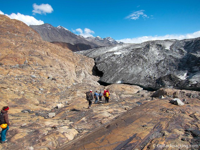 Approaching Viedma Glacier