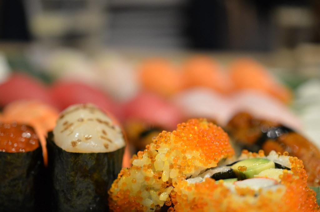 Masuya Cod roe futomaki sushi