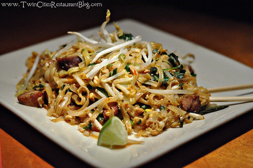 Pad Thai with Pork at Big Bowl ~ Roseville, MN