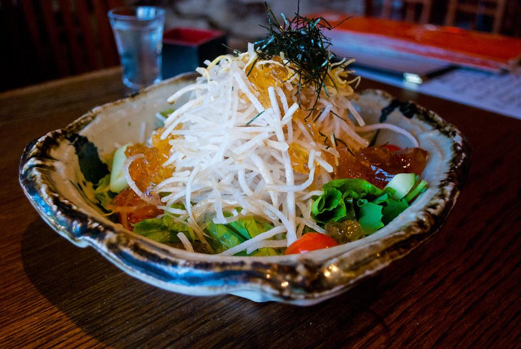 Tsukuneya Daikon Salad