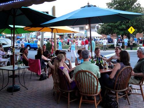 Outdoor Dining around the Square, Leonardtown