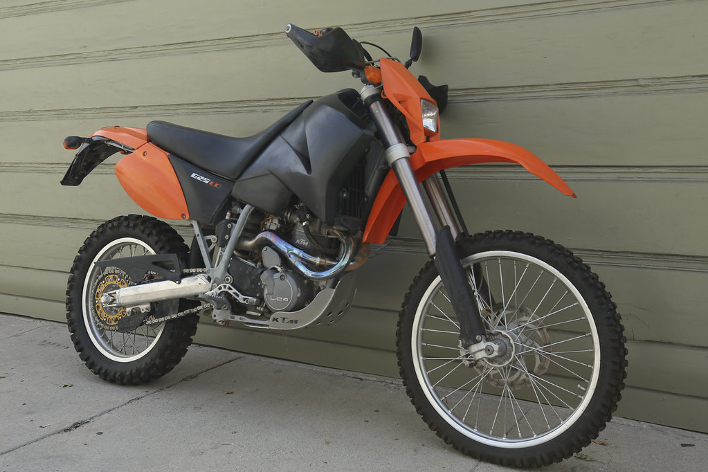 2004 ktm 625 lc4 sxc overland expedition ready 2575 miles $4000.00