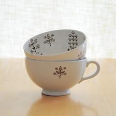 arabia tapestry teacups
