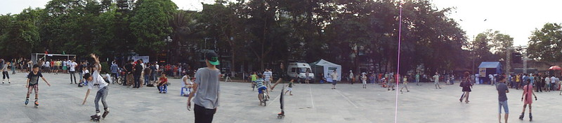 Dong Da Park Around 5pm