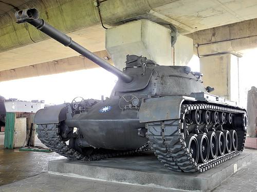 Tank in Taoyuan.