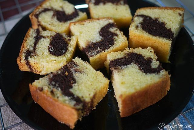 plate cake