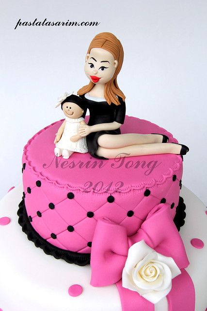 NEW MOTHER BIRTHDAY CAKE