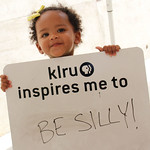KLRU inspires me to... be silly!