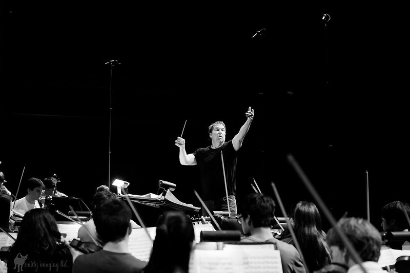 David Newman conducting AYS
