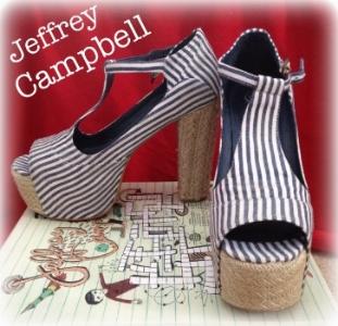 Jeffrey Campbell Foxy espadrilles
