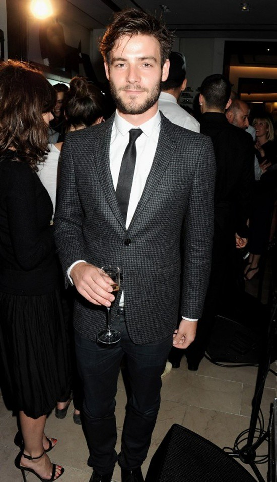 5 British musician Roo Panes at the Burberry event in Knightsbridge London