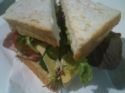 HamCheesePickleSandwich