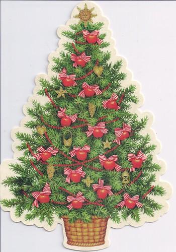 Christmas Tree Die-Cut