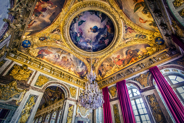 The Ornate Walls & Ceilings of Versailles