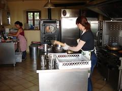 Cocinando la comida