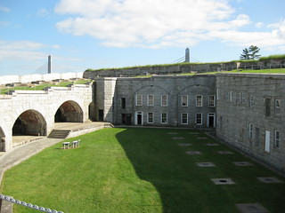 The interior of Fort Knox