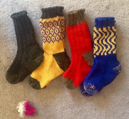 Colorful a4a socks