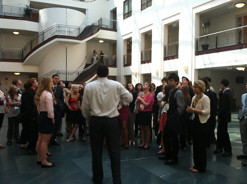 NSLC LAWA Visits the Columbus Law School