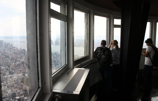 View from the 102nd floor of the empire state building for 102nd floor of the empire state building