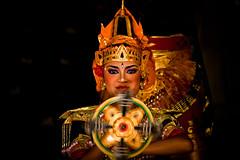 Legong dancer. Ubud, Bali.