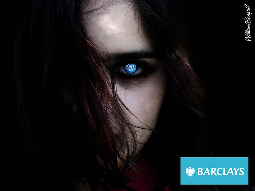 BARCLAY'S EVIL EYE by Colonel Flick