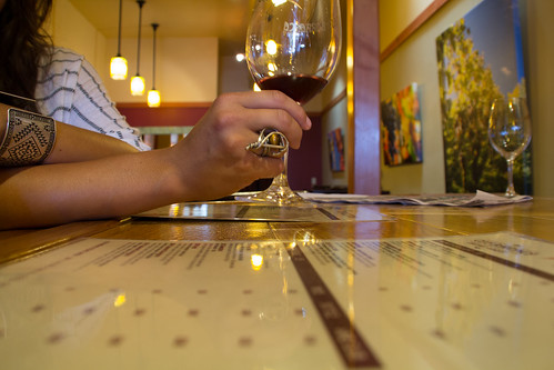 california lighting ca wood travel friends vacation food reflection glass girl lines bar canon menu eos cool nice angle wine pov perspective ring inside tasting unusual date redwine southerncalifornia ojai tamron leading 2012 60d shotdetail