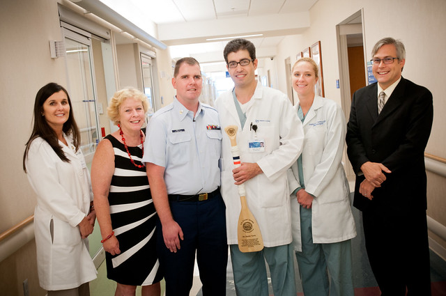 Sean Bretz and his Mayo Clinic stroke team