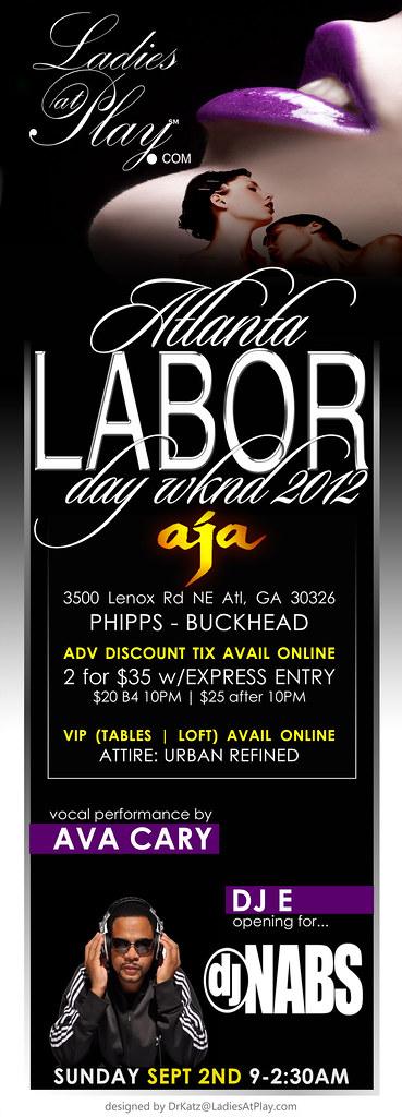 LAP Atlanta Labor Day Sunday flyer 2012