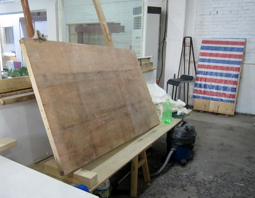 Beijing papermakers: paper drying board
