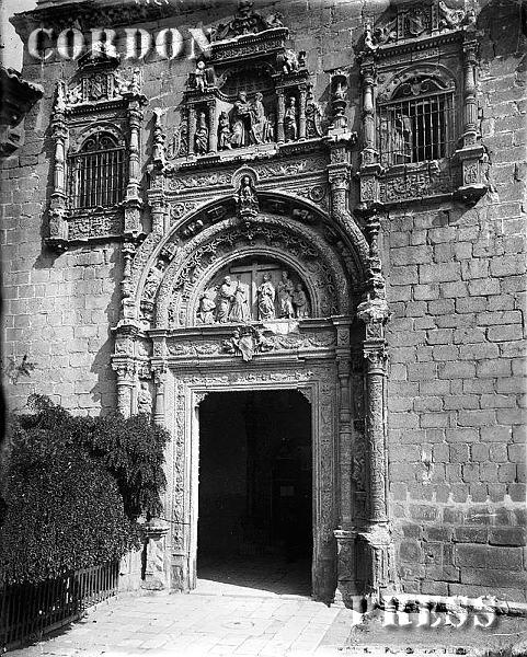 Hospital de Santa Cruz de Toledo hacia 1875-80. © Léon et Lévy / Cordon Press - Roger-Viollet