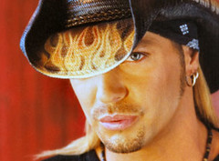 bret michaels flame hat
