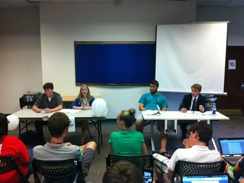 NSLC POLI Students Hold Democratic Primary Debate