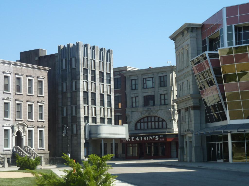 Universal studios tour Улицы города в любом стиле