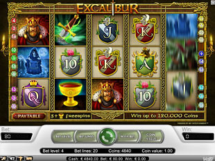 Excalibur slot game online review