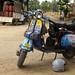 Our glorious Bajaj Chetak on a road-trip