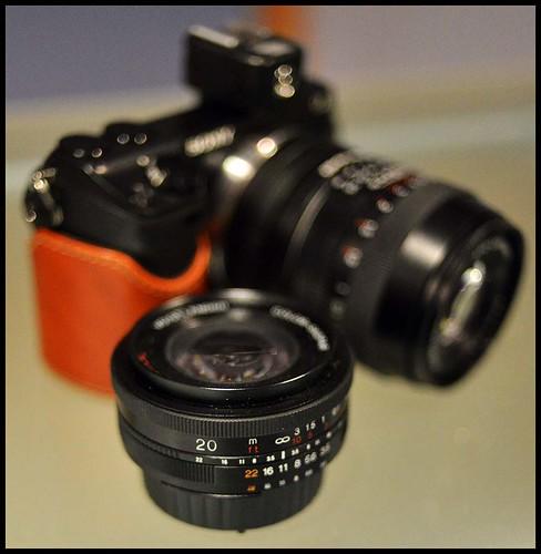 Sony NEX-7 Voigtlander 20mm and 90m lenses