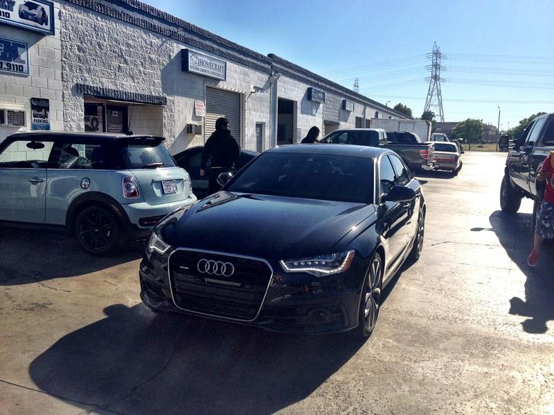 Old member, new car 2012 Audi A6 Prestige Phantom Black w/Stis ... on honda accord tinted, audi s5 tinted, audi a3 tinted, nissan altima tinted, jeep grand cherokee tinted, audi a4 avant tinted,