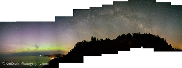 Empire Bluff ... Northern Lights ... Milky Way