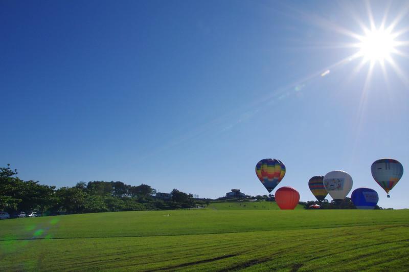 2012_台東熱氣球嘉年華,好天氣..但也好熱..