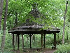 Gazebo in the Woods